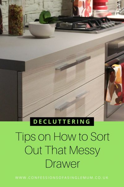 Tips on How to Sort Out That Messy Drawer