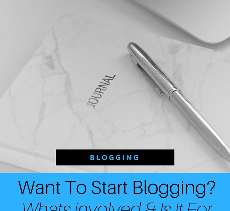 So You Think You Might Want To Start A Blog?