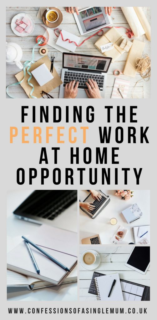 FINDING THE PERFECT WORK AT HOME OPPORTUNITY 1