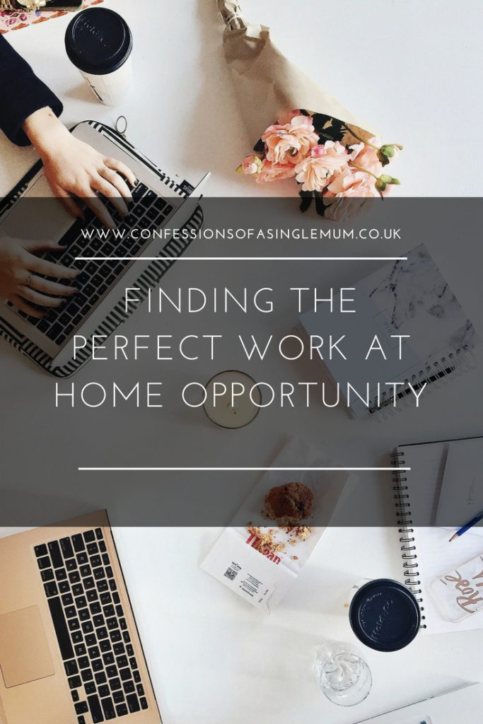 FINDING THE PERFECT WORK AT HOME OPPORTUNITY 2