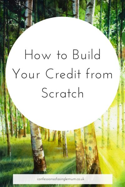 How to Build Your Credit from Scratch