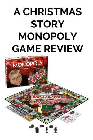 A Christmas Story Monopoly Game
