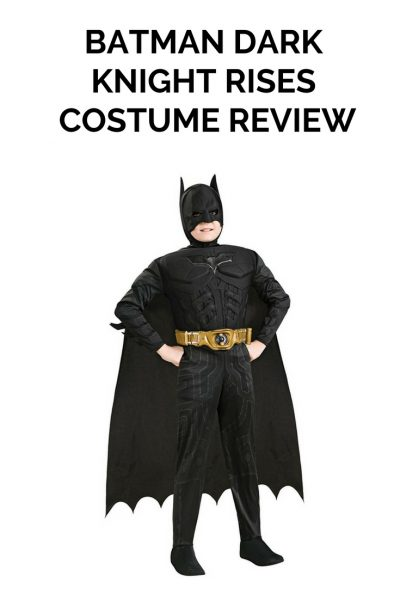 BATMAN DARK KNIGHT RISES COSTUME REVIEW