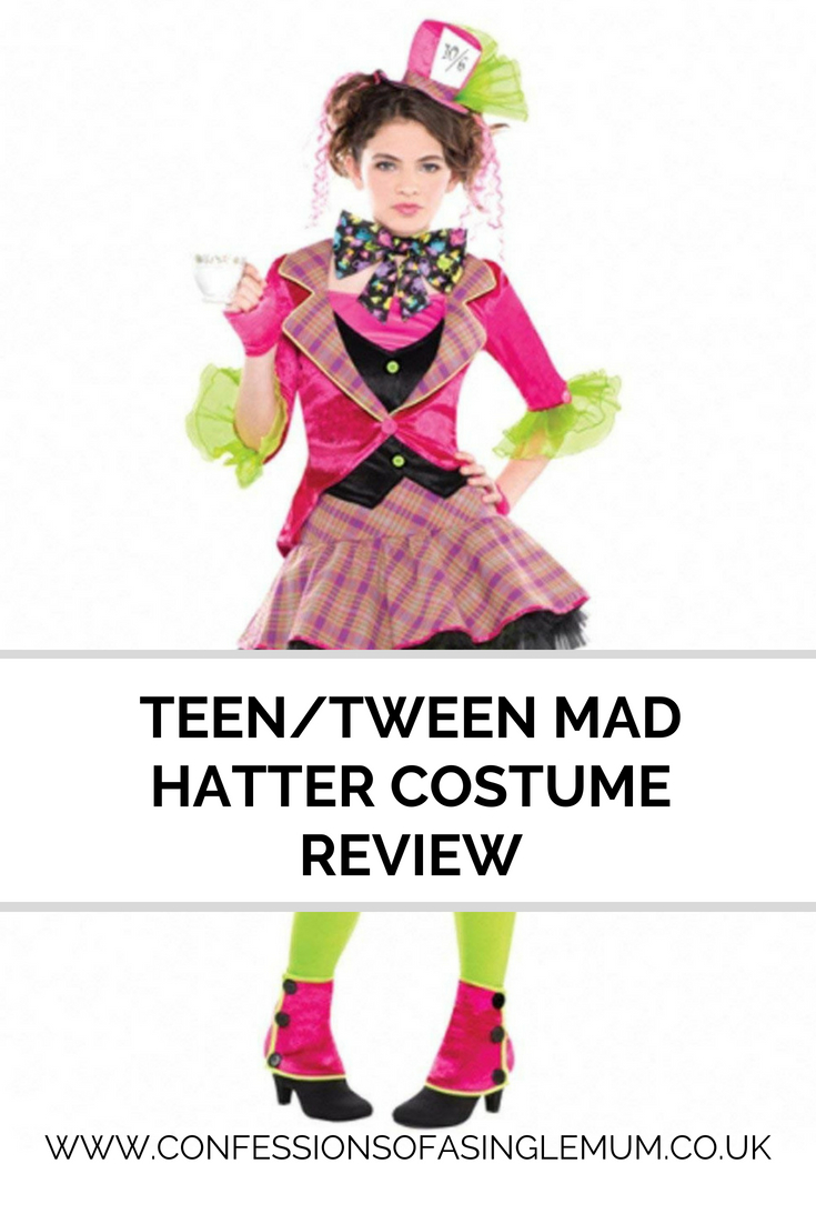 Teen/Tween Mad Hatter Costume Review