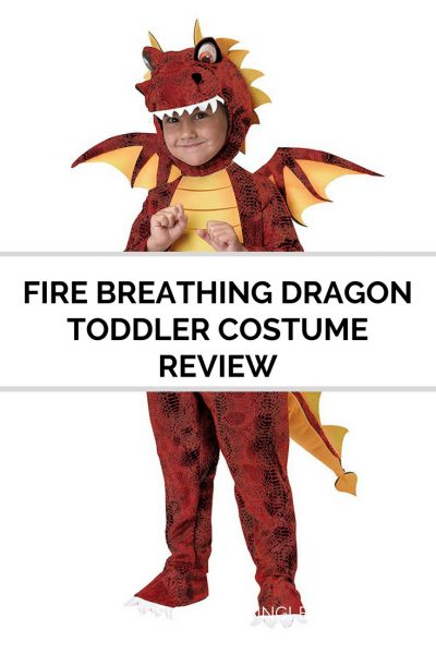 FIRE BREATHING DRAGON TODDLER COSTUME REVIEW