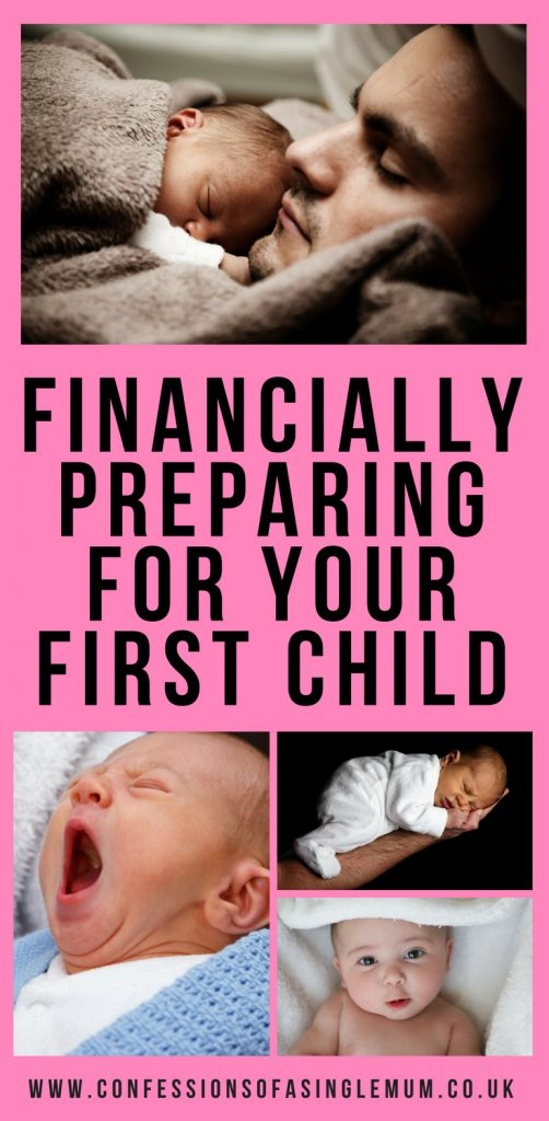 Financially Preparing for Your First Child 1