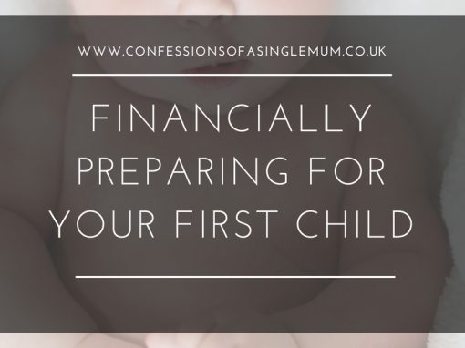 Financially Preparing for Your First Child