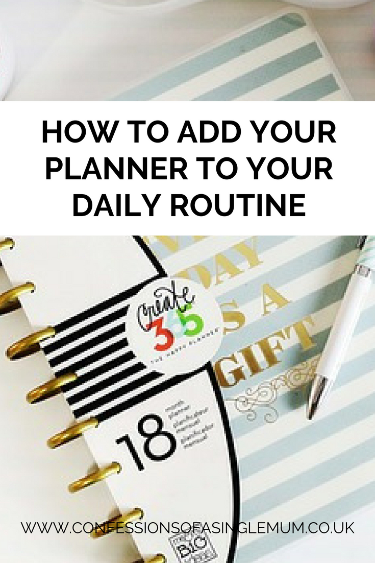 How to Add Your Planner to Your Daily Routine