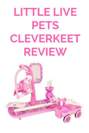 Little Live Pets Cleverkeet review 1
