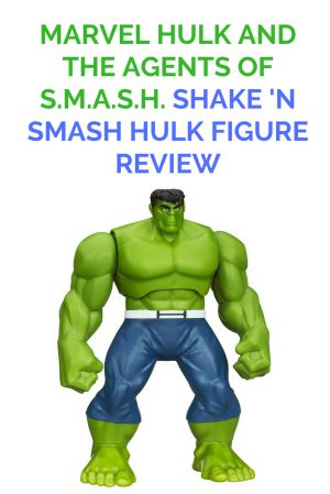 Marvel Hulk and the Agents of S.M.A.S.H. Shake N Smash Hulk Figure Review 1