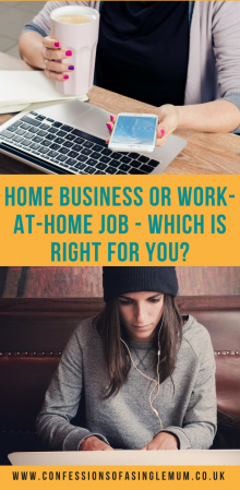 Home Business or Work at Home Job Which Is Right for You