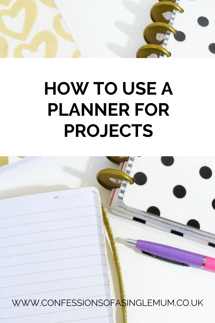 How to Use a Planner for Projects