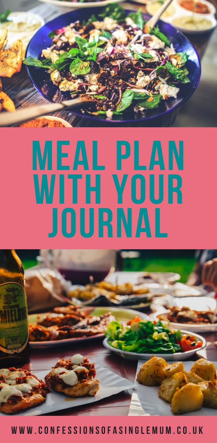 Meal Plan with Your Journal