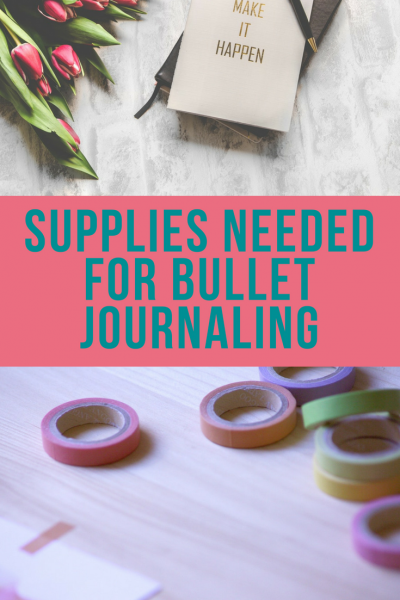 Supplies Needed for Bullet Journaling