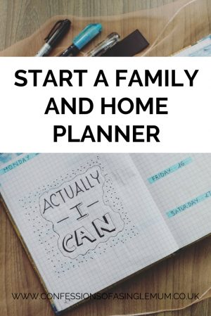 Start a Family and Home Planner