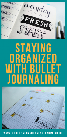 Staying Organized with Bullet Journaling