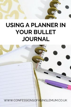 Using a Planner in Your Bullet Journal