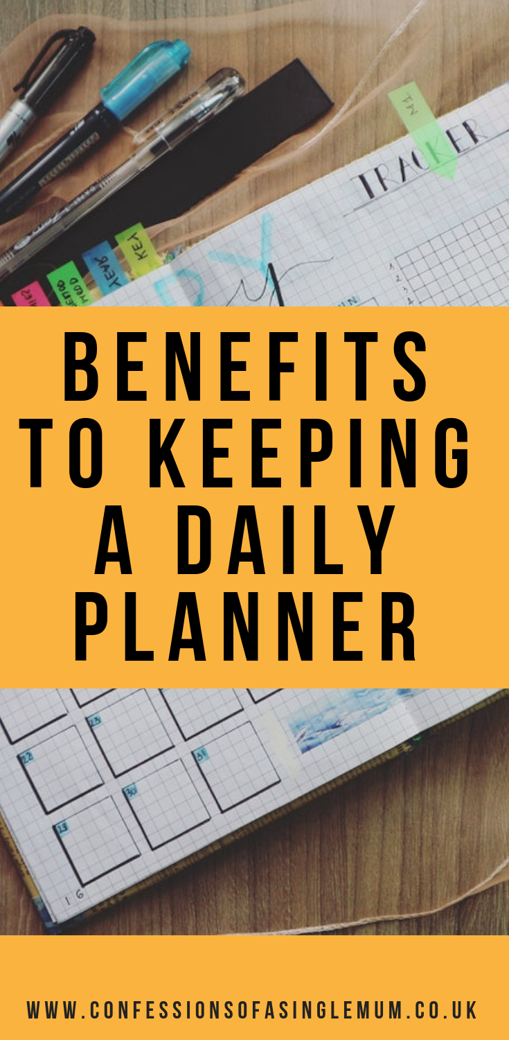 Benefits to Keeping a Daily Planner