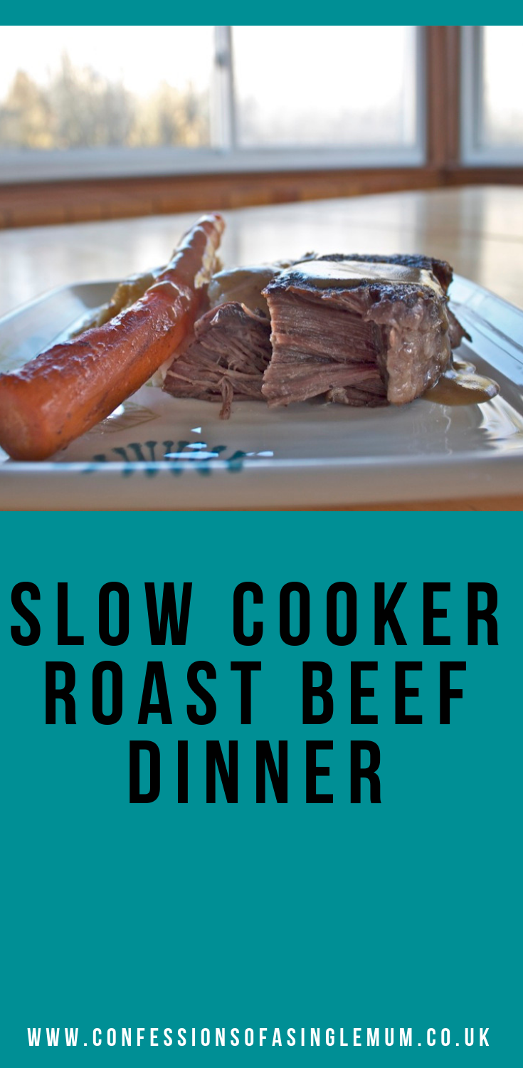 Slow Cooker Roast Beef Dinner