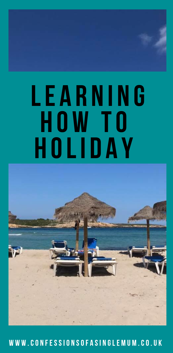 learning how to holiday