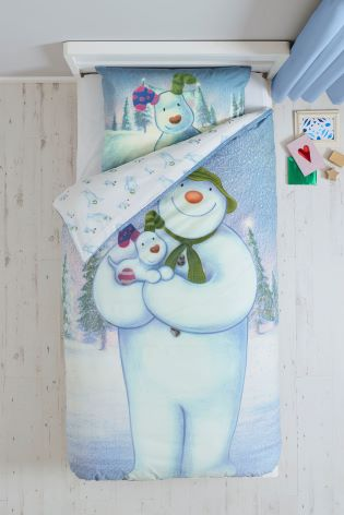 snowman christmas bedding