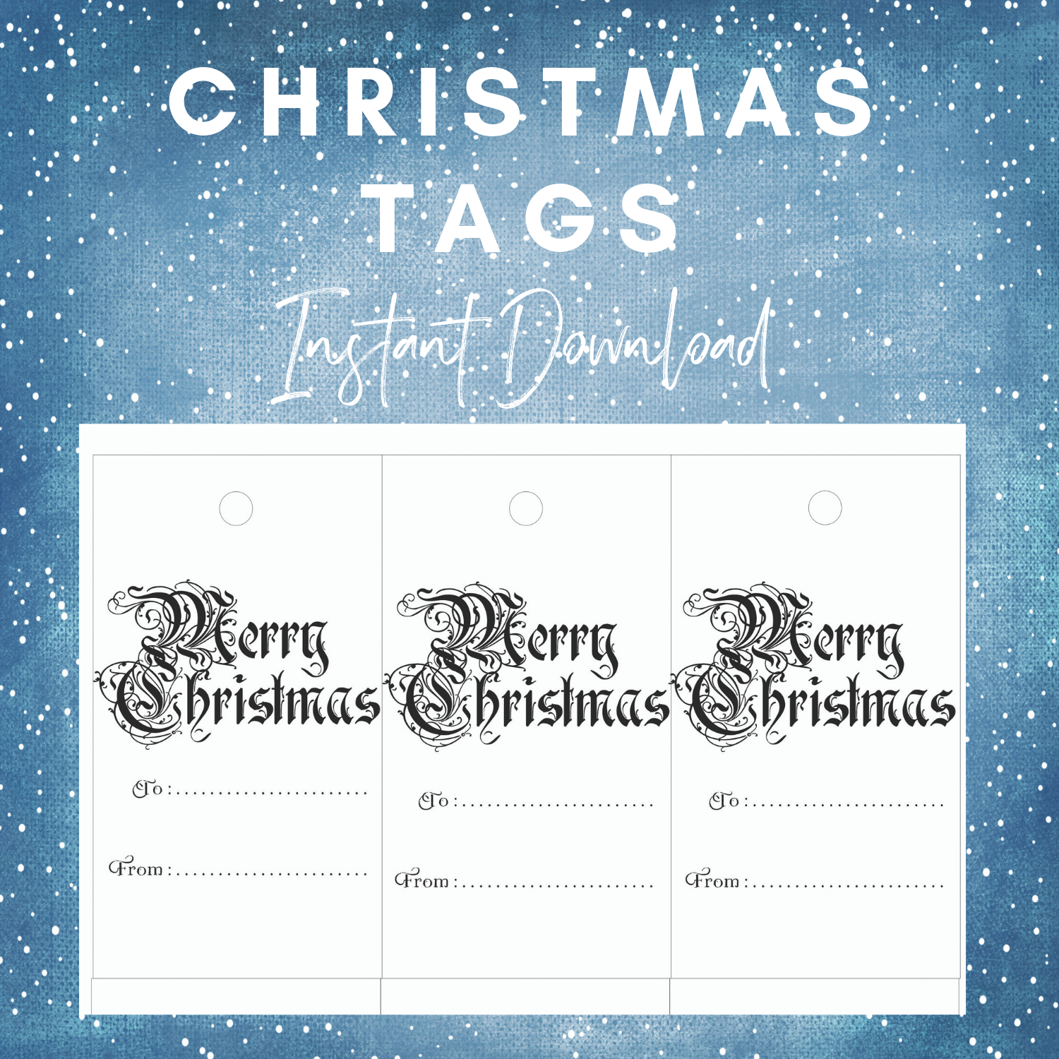 Copy of Copy of Copy of Copy of Christmas Tags 19