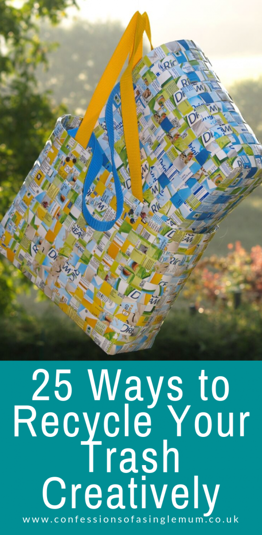 25 Ways to Recycle Your Trash Creatively