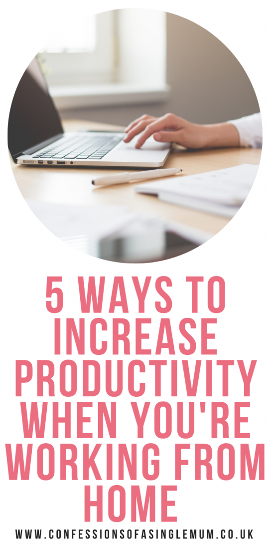 5 Ways To Increase Productivity When Youre Working From Home