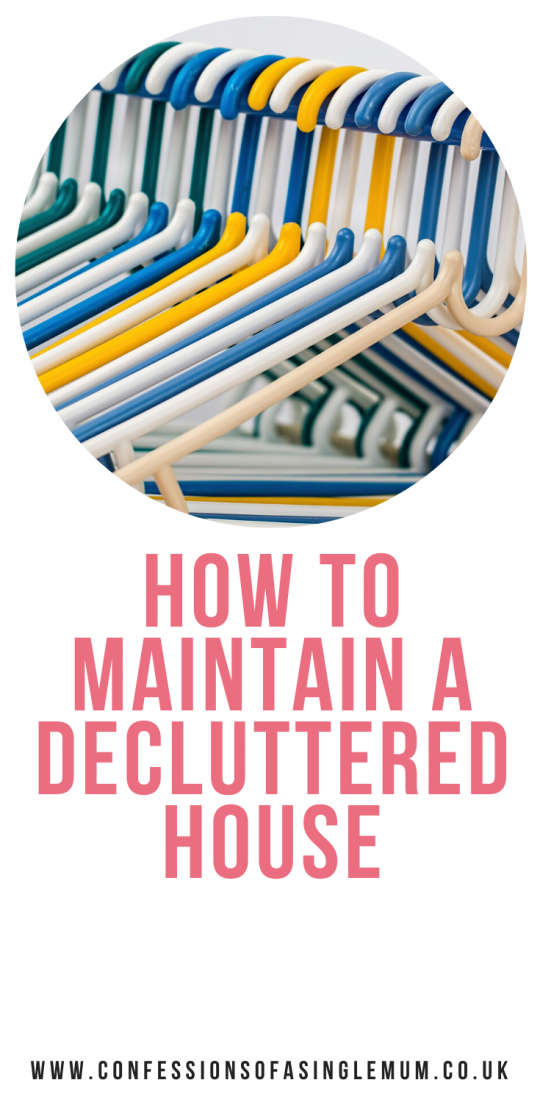 How to Maintain a Decluttered House